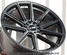 18X9.5 +38 F1R F27 5X120 GUN METAL WHEELS Fits Bmw E36 E46 M3 323 318 325 328