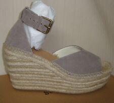 SOLUDOS Positano Ash Platform Wedge Heels Espadrille Sandals Size US 10 NEW