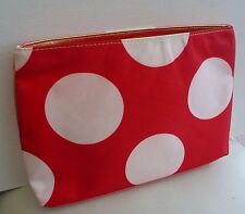 Elizabeth Arden Red & Pink Makeup Cosmetics Bag, Large Size, Brand NEW!!