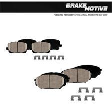 For Acura TSX Honda Accord EX EX-L Front + Rear Ceramic Brakes