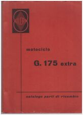 Katalog Ersatzteile Gilera G175 Extra 1957