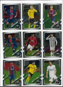 2020/21 Topps Chrome UEFA Champions Soccer Base Pick Player Complete Your Set