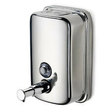 CHROME FINISH SOAP/SHAMPOO DISPENSER PUMP ACTION WALL MOUNTED SHOWER/BATHROOM