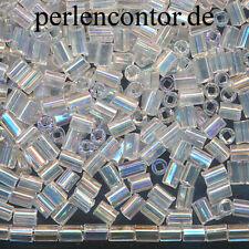 Glasstifte Glasröhren 5mm 10 Gramm ca 75 Stück #GL10 17x2 Silber