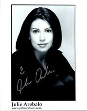 Julie Arebalo 8x10 Signed Photo autographed Picture and COA