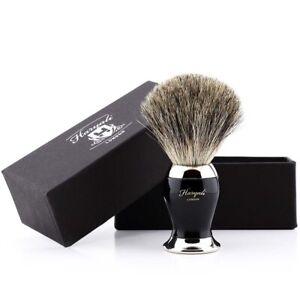 badger shaving brush pure with Brass Black handle Soft Hair shaving brush gift
