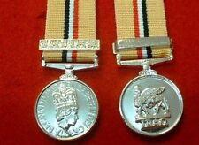 Quality OP/Telic 1 Iraq Miniature Medal Gulf War 2 Medal Iraq Miniature Medals