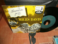 "miles davis""rocker""classics in jazz part 2.""or.fr.capitol:eap:2.459.mint-."