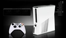 XBOX 360 4GB Limited Edition White Console AUS + Warranty Kinect Ready *NEW!*