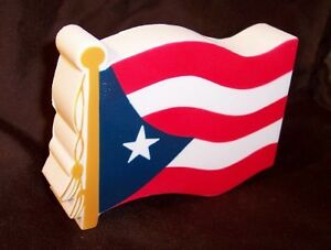 ***PUERTO RICO FLAG***STRESS BALL*** Rican car caribbean SQUEEZY novelty cool