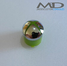 Contrôleur xbox 360 guide personnalisé / bouton dôme (chrome officiel)