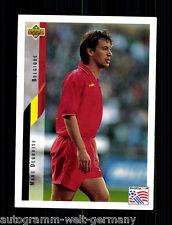 Marc Degrujse Belgien Upper Deck WM 1994 Orig. Sign. +A48332