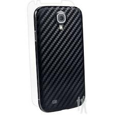 BodyGuardz Armor Carbon Fiber Samsung Galaxy S4 Skin & Screen Protector - Black