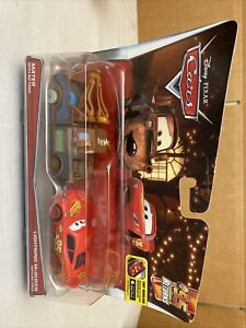 CARS Disney/Pixar Mater & Lightning McQueen With No Tires Toy-Jeff Gorvette Pitt