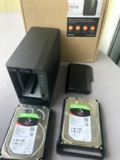 Synology Diskstation DS218 + 2x 6TB = 12TB Seagate Ironwolf und Garantie 03-2023