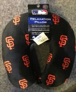 San Francisco Giants Pegasus Relaxation Travel Neck Soft Pillow TSA Approved