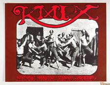 KMPX FM Radio Poster 1967 Stanley Mouse Alton Kelley AOR 2.259