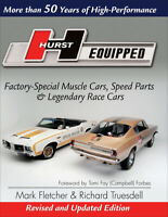 Hurst Equipped: Revised & Updated Edition Book~AMC~MOPAR~AMX~OLDS~ NEW Release!