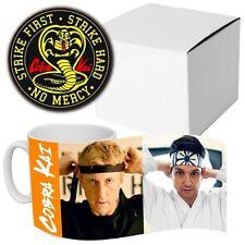 Cobra Kai Karate Kid - Daniel - Johnny - TV Series - Coffee MUG + Wooden Coaster