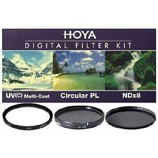 Hoya Digital Filter 43mm Kit 3 Filters UV (c) PL Ndx8