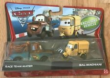 Disney Pixar Cars 2 Race Team Mater and Sal Machiani - New In Box