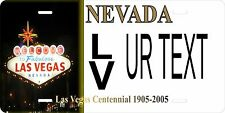 Nevada Vegas Tag License Plate Personalized Auto Car Custom VEHICLE OR MOPED