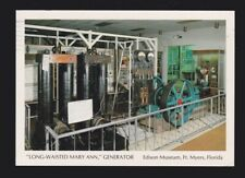 Long-Waisted Mary Ann Generator in Edison Museum Fort Myers Florida Post Card