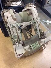 All New USGI Molle II Frame , Belt and Shoulder Straps DCU Desert Camo COMBO