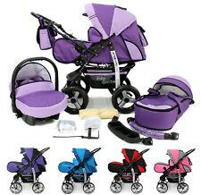 Kombi Kinderwagen Buggy Sportwagen Kamel Pram Stroller + Autositz + Geschenke