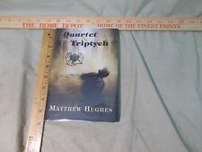 Quartet & Triptych by Mathew Hughes Fantasy Science Fiction autographed