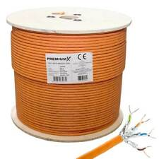 Cat7 Netzwerkkabel S/FTP Simplex LAN Kabel Ethernet Datenkabel Verlegekabel 500m