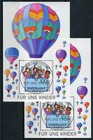 Bund Block 40 gestempelt (2 Stück) ETSST Berlin BRD 1933 Für uns Kinder 1997