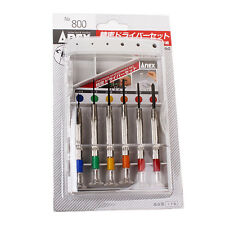 ANEX No.800 Precision Screwdriver Set(6pcs)