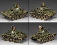 KING & COUNTRY FALL OF BERLIN RA054 RUSSIAN SOVIET T-70 TANK SET MIB