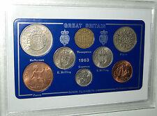 1963 vintage coin set 54th anniversaire naissance année cadeau anniversaire de mariage cadeau