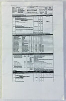 2008 ABC ELI STONE  set used CALL SHEET plus sides Season 2 Episode 13