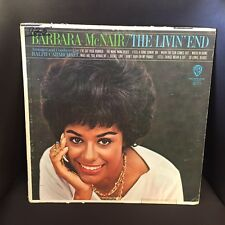 Barbara McNair The Livin' End LP northern soul Warner 1964 EX white label MONO