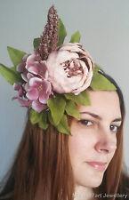 Pink Fascinator Lavanna Flower Crown Races Headpiece Wedding Headband