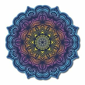 Mandala Ornamental Color Car Vinyl Sticker - SELECT SIZE