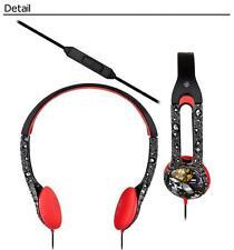 Skullcandy Icon 2 Headphones OG Abel High Card Mic black white red Mic'd iPhone