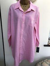 Ralph Lauren Nightshirt Nightdress Nighty Nightwear L Large Pink