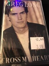Greg Long - Cross My Heart - 1994 - Myrrh - Cassette Tape