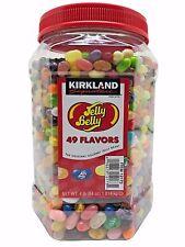 Kirkland Signature Jelly Belly 49 Flavors Original Gourmet Jelly Beans 4 LB
