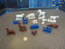 VINTAGE LOT OF PLASTIC ANIMALS RELIABLE PLASTIC CANADA