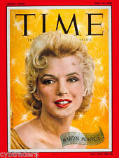 Marilyn Monroe 1956 Time Magazine Cover Refrigerator  / Tool Box Magnet