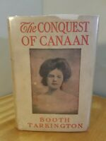 THE CONQUEST OF CANAAN | Booth Tarkington | 1905 | Illustrated | HC DJ