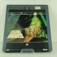Star Wars CED Disc Stereo Vintage CBS Fox Lucas FREE SHIPPING