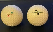 Vintage Early Dimple Golf Balls