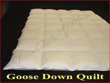 1 SUPER KING QUILT/DUVET BRAND NEW- CASSETTE BOXED - 50% GOOSE DOWN - 4 BLANKETS