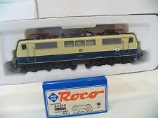 """ROCO 63640 E-LOK  BR 111 BLAU/BEIGE der DB  """"3 LÖWEN TAKT""""   A84"""